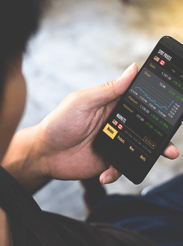 checking for spot prices on mobile app